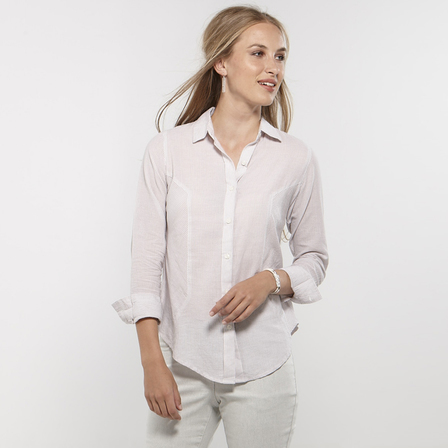 Striped Panelled Shirt