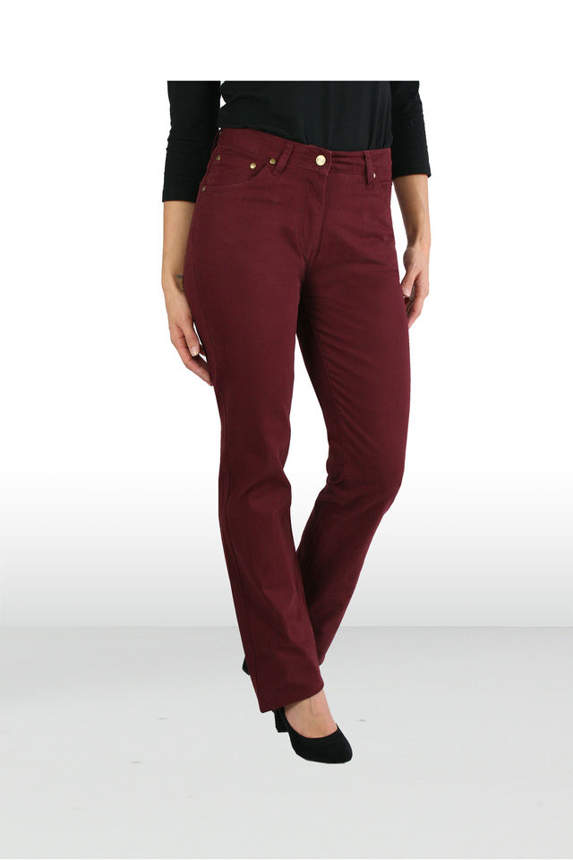 Coloured Pants Straight Pinot