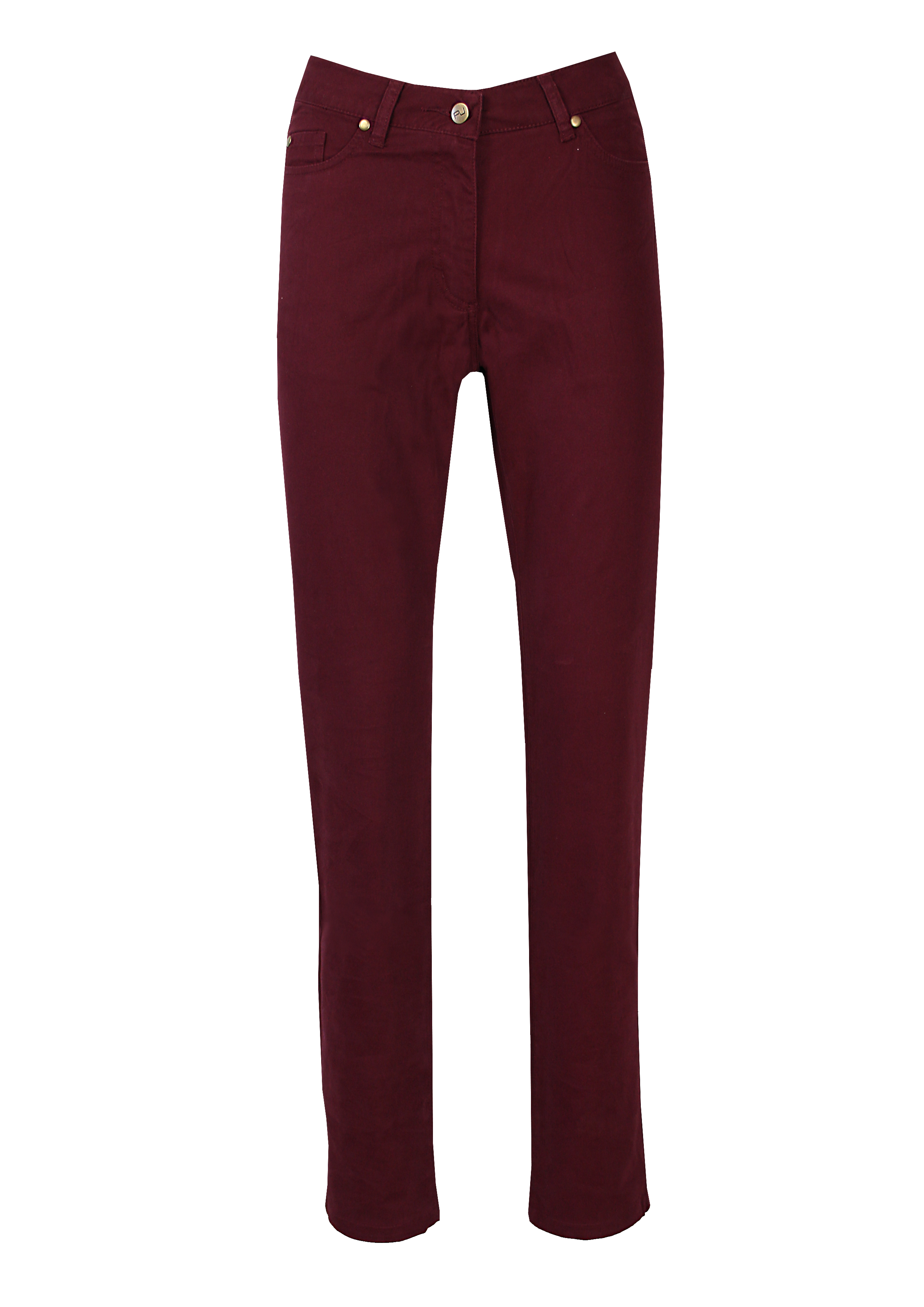 Coloured Pant Slim Pinot