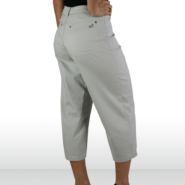 Wide Leg Cotton Twill